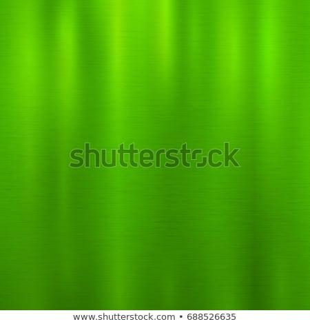 Foto stock: Verde · metal · tecnologia · abstrato · polido · textura
