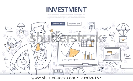 Business Online Concept with Doodle Design Icons. Stock photo © tashatuvango