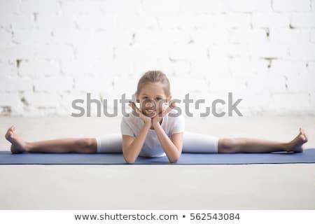 гибкий танцовщицы молодые красивая женщина тело Сток-фото © dash