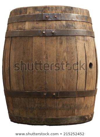 metal wine barrels in a winery stock photo © daboost
