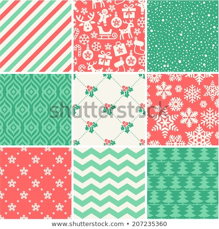 Christmas socks for gifts, seamless pattern Stock photo © rogistok