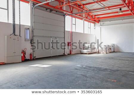big industry garage door stock photo © dotshock
