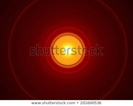 yellow sun in the deep space Stock photo © magann