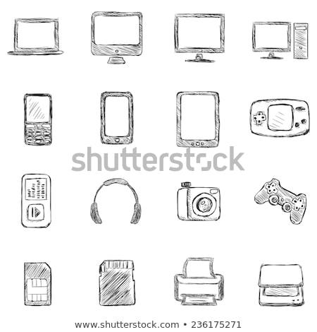 память · карт · Stick · компьютер · аппаратных - Сток-фото © rastudio