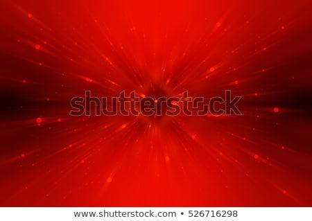Abstrakten rot glühend Zeilen Licht Hintergrund Stock foto © zven0