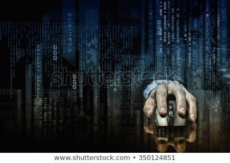 Ciemne internetowych Internetu stronie anonimowy cyberprzestrzeń Zdjęcia stock © Lightsource