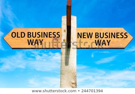 Carretera éxito manera nuevos negocios Foto stock © alphaspirit