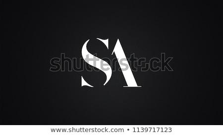 levél · logo · szimbólum · űrlap · kombináció · levelek - stock fotó © meisuseno