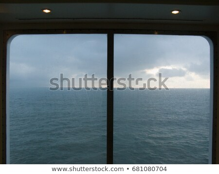View of English Channel from ferry window Stock photo © IS2