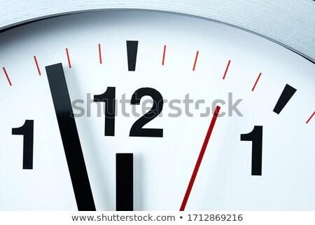 Kép visszaszámlálás éjfél óra fehér siker Stock fotó © wavebreak_media