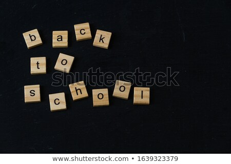 tableau · succès · puzzle · sombre · illustration · argent - photo stock © wavebreak_media