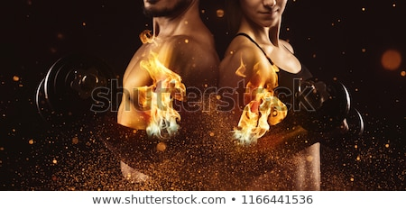 Male and Female Body Transformation Stock photo © bluering
