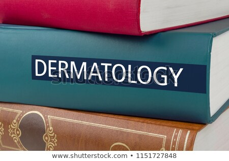 A book with the title Dermatology written on the spine Stock photo © Zerbor