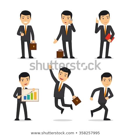 Homem de negócios cartão de visita imagem negócio homem Foto stock © Imabase