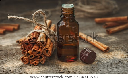 Cinnamon with essential oil Stock photo © bdspn