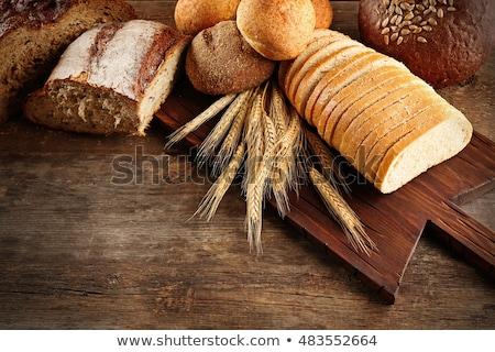 Dorado pan trigo superior vista crujiente Foto stock © dash