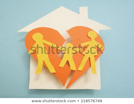 Separation Of Family With Broken House Stock photo © AndreyPopov