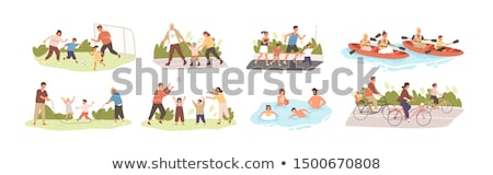 Summer Lifestyle Collection Vector Illustration Stock photo © robuart