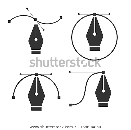 Pen Tool Vector Icon Stock photo © smoki
