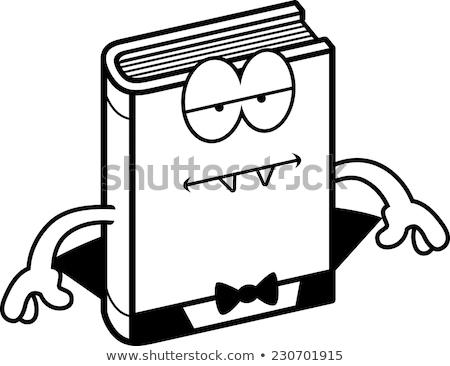 Karikatur Entsetzen gelangweilt Illustration schauen Stock foto © cthoman