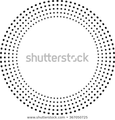 vector colorful dots in circle form Stock photo © freesoulproduction