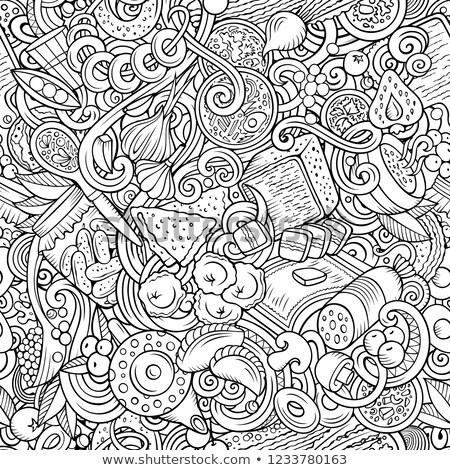 desenho · animado · bonitinho · ilustração · brilhante - foto stock © balabolka