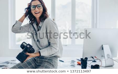 カメラマン プロ カメラ 写真 カップル ストックフォト © robuart