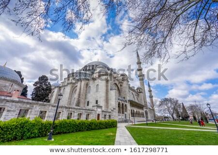 Suleymaniye Mosque in Turkey Stock photo © Givaga