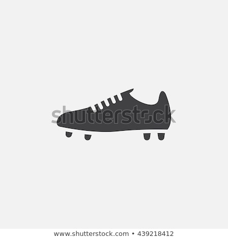 Icon of football boots Stock photo © angelp