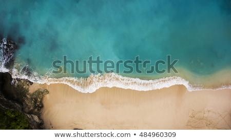 Ocean fale kolor turkus morskich naturalnych Zdjęcia stock © artjazz