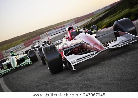 Racing car of F1 Stock photo © jossdiim