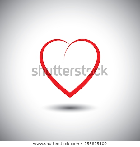 simple heart icon representing love emotion. vector icon. This a Stock photo © kyryloff