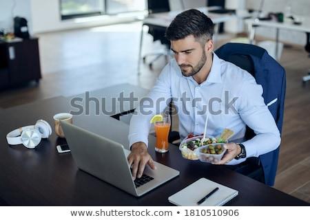 Businessman surfing in the net Stock photo © pressmaster