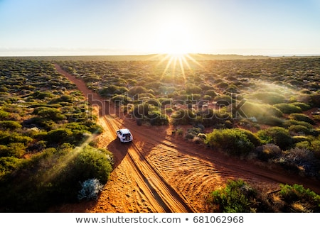 Camping in the Australian outback Stock photo © lovleah
