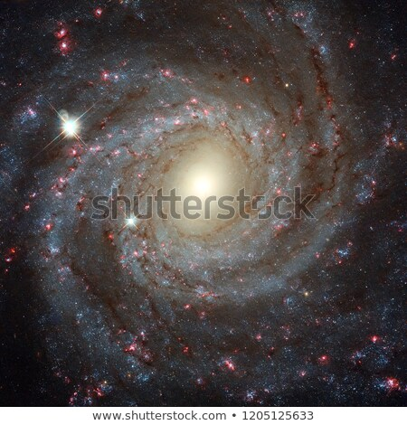 Spiral galaxy NGC 3344 Elements of this image furnished by NASA Stock photo © NASA_images