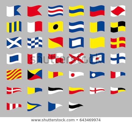 internacional · senal · náutico · banderas · aislado - foto stock © ukasz_hampel