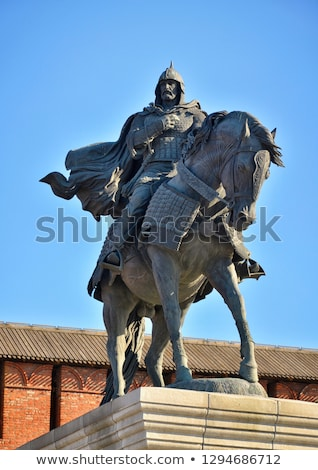 monument to dmitry donskoy russia stock photo © borisb17