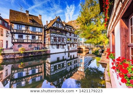 street in Strasbourg, France Stock photo © borisb17