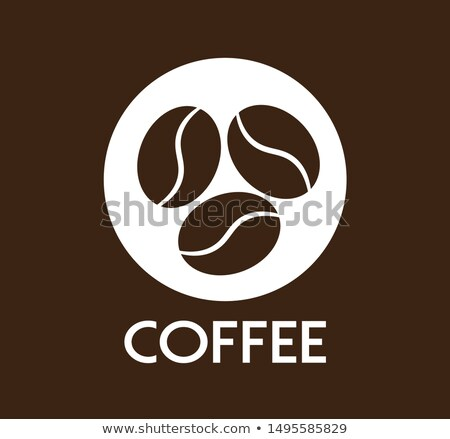 Hot fragrant coffee beans in roast process Stock photo © LoopAll
