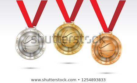 basketball medals stock photo © rastudio