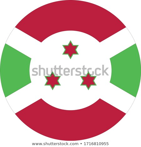 Burundi flag, vector illustration on a white background. Stock photo © butenkow