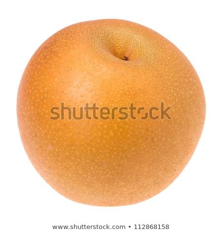 Isolated Japanese pear Stock photo © Ansonstock