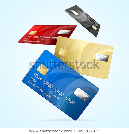 Falling credit cards Stock photo © creisinger