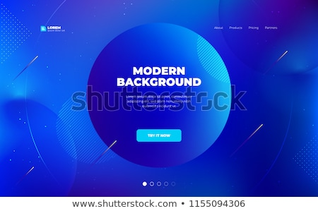 3d abstract dynamic blue background Stock photo © orson