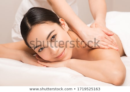 Stock photo: shoulder massage luxury