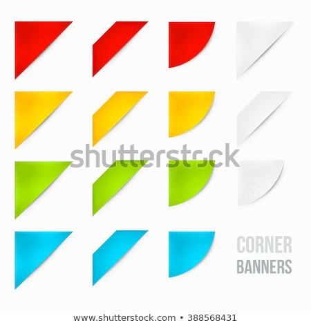 Green sale corner background Stock photo © orson