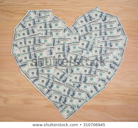 dollar in form of heart stock photo © paha_l