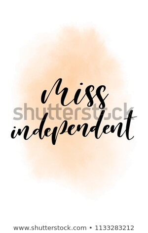 Miss Independent. Stock photo © Fisher