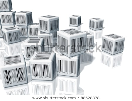 Barcode Cubes Stock photo © HerrBullermann