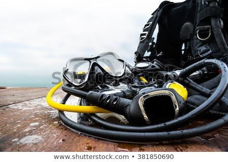 дайвинг оборудование океана цистерна Сток-фото © leeser